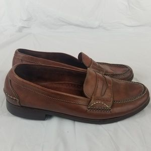 Cole Haan Mens Country Loafers Size 10.5 M Brown